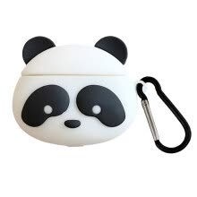 other-parts-/ Unique Cute Cartoon Panda Silicone Protective Case With Hook for Airpods 1/2  Skin Cover on JD