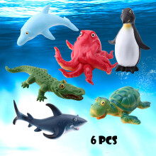 Younglife Sea Animals Figure Toys Realistic Ocean Creatures Action Models Education Toy