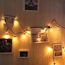 Smartbrave  220V 20 LED Light Bulb Ball String Fairy Lights For Bedroom Xmas Wedding Party