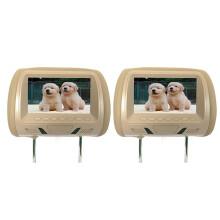 2x 7 Inch Rear-Mounted Car Headrest Universal Hd Digital Screen Image Lcd Display Pair Headrest Tv D