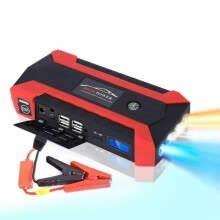 cpus-Car Jump Starter, 1000A Peak 20000mAh Portable Charger With LED Flash Light on JD