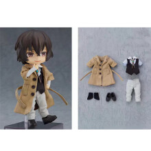 Orange Rouge Bungo Stray Dogs: Osamu Dazai Nendoroid Suits, real clothes, movable joints Action Figu