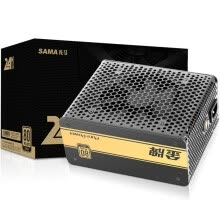 pc-power-supplies-First horse (SAMA) gold 600W rated 600W (full voltage / 80PLUS gold certification / active PFC / flat wire) on JD