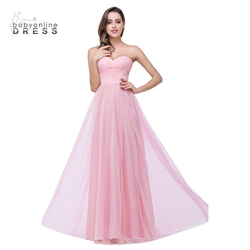 Vestido de dama de honor Babyonlinedress En stock Vestido de novia ...