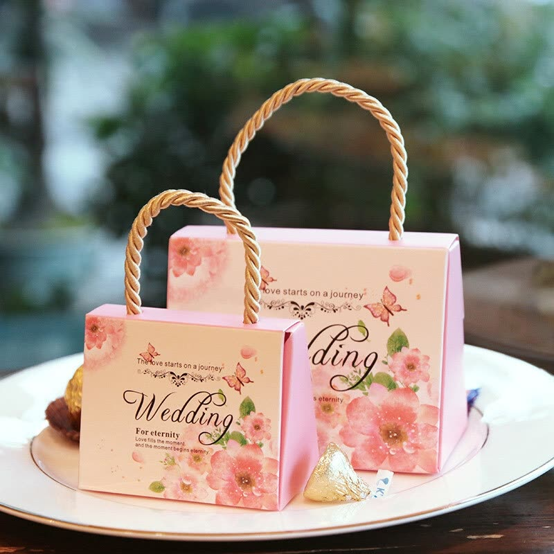 Shop Wedding Paper Gift Boxes Wedding Gifts For Guests Party Favors