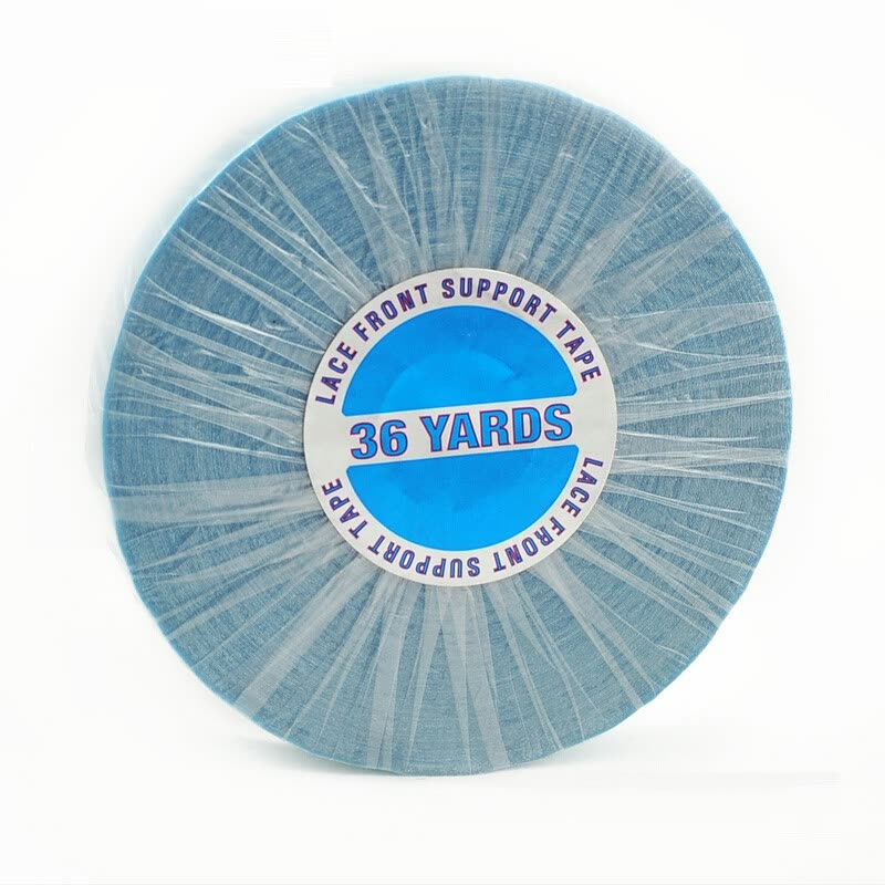 12 36yds Walker Lace Front Support Double Sided Tape Rollblue