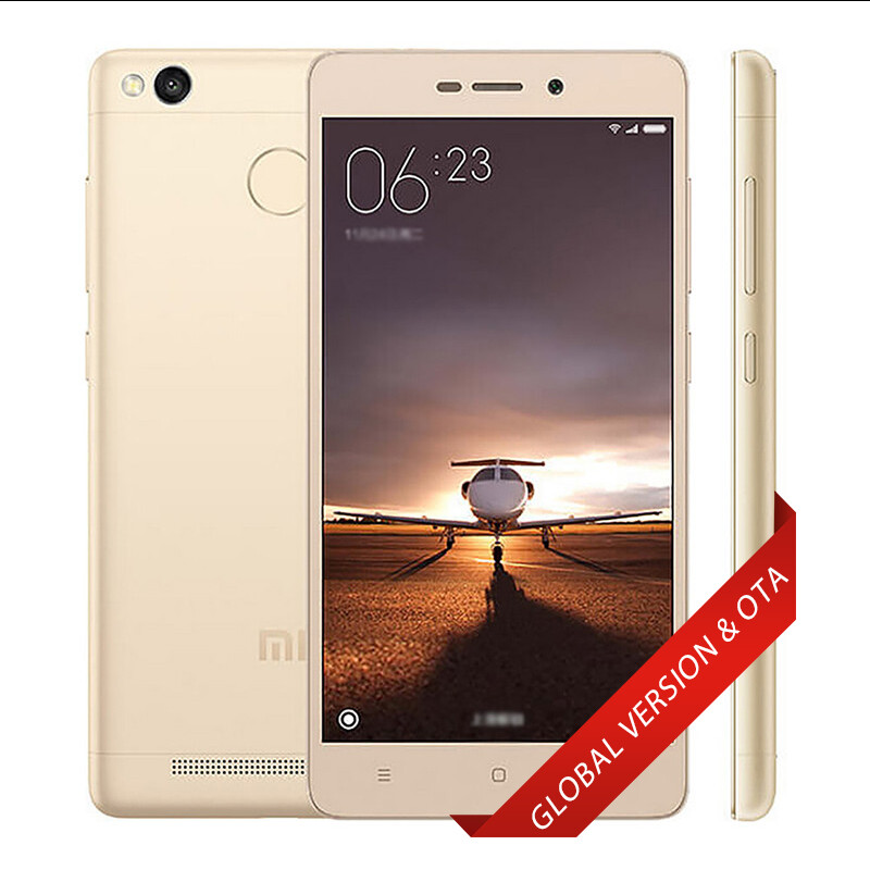 Global Xiaomi Redmi 3S Pro 3+32GB 4G/LTE Qualcomm Snapdragon 430