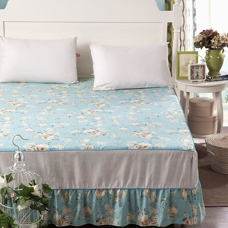 Italian Bed Mattress Cotton Bed Linen Cotton Lace Bedspread Bed Sheets  180cm * 200cm Garden Holiday