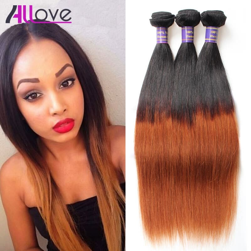 Cheap Ombre Brazilian Straight Hair T1b 30 Brazilian Hair Weave