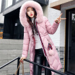 New autumn and winter cotton clothing women long sleeves coat ladies cotton clothing  women down jacket