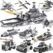 Zenggao (COGO) military aircraft building blocks (25 kinds of warships, tanks, aircraft) plastic fight boys puzzle toys 13007
