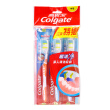 Colgate new clean toothbrush × 3 (special equipment) (in the hair)