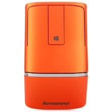 875061464-Lenovo (Novo) N700 win8 ultra-thin wireless mouse dual-mode touch 2.4G Bluetooth 4.0 with laser pointer function orange Bluetooth mouse on JD