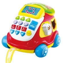 -AUBY educational toys electronic car phone on JD