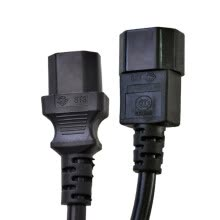 -The same as (TOWE) TW-F-C13 / C14 C13 to C14 PDU power cord / extension cord length 3 meters 3 * 1.5 square on JD