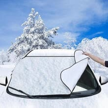 -Bluelans  Car Auto Snow Ice Protector Visor Sun Shade Fornt Rear Windshield Cover Shields on JD
