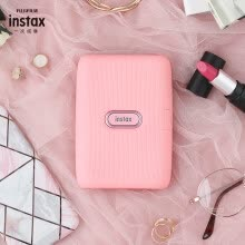 -Fuji instax mini Link once imaging mobile phone photo printer mini small portable pocket wireless photo printer blue on JD