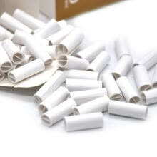 -150Pcs 6MM Natural Unrefined Pre-rolled Tips Cigarette Filter Rolling Paper for Hand Rolled Cigarettes 2018 Hot Sale on JD