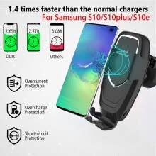 network-storage-Qi Wireless Charger Dock Car Holder Charging Mount Pad For Samsung S10/S10Plus on JD