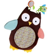-Cute Cartoon Owl Baby Infant Tummy Time Crawling Play Mat Game Pad Pillow Toy on JD