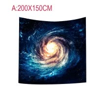 -【MIARHB】Solar System Planet Moon Fabric Wall Tapestry Home Decor on JD