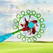 novelty-toys-Two-in-one Bubble stick windmill Magic Portable Bubble stickChildren Bubble Wand on JD