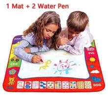 -Drawing Water Pen Painting Magic Doodle Aquadoodle Mat Board Kid Boy Girl Toy on JD