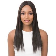 -[Firstdream Store]High Quality Natural Fashion Long Brown Straight Wig Humen Party Synthetic Wigs on JD