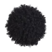 -Mnycxen Black Synthetic Curly Wigs for Women Short  Wig African American Natural on JD