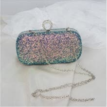 -Women Evening Clutch Bag Shimmering Diamante Wedding Prom Club Party Handbag NEW on JD