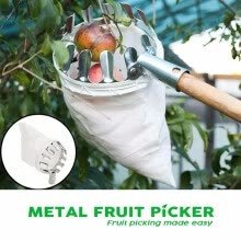 -Outdoor Fruit Picker Apple Orange Peach Pear Practical Garden Picking Tool Bag on JD