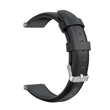-Nomeni Leather Watch Band Buckle Wrist Band Strap for Samsung Galaxy Watch Active 2 on JD