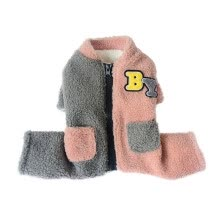-Pet Dog Clothes Winter Jackets Suit Warm Cashmere Velvet Vest Small Dog Motorcycle Waistcoat Coat Clothing Coats Pet Products on JD