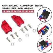 -GPM Racing Aluminum Servo Stabilizer For ARRMA  1/8 NERO/ FAZON 6S RC Car on JD