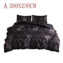 -Simple Marble Bedding Duvet Cover Set Quilt Cover  Twin King Size With Pillow Case on JD