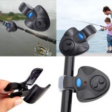 -LED Electronic Fish Bite Finder Alarm Alert Light On Fishing Rod Outdoor on JD