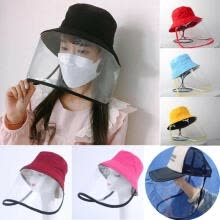 workplace-safety-supplies-Protective Epidemic Mask Anti-saliva Dust-proof Hat Safety Protection Tool on JD