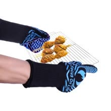 grills-outdoor-cooking-equipment-Heat resistant  Blue Silicone glove  Microwave Oven Barbeque  Microwave Oven for Protect Hands on JD