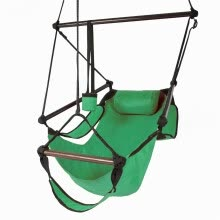 -Outdoor Indoor Hammock Hanging Rope Chair Porch Swing Seat Camping Portable on JD