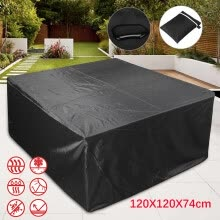 -Garden Table Cover Outdoor Garden Furniture Winter Storage Waterproof Tarpaulin on JD
