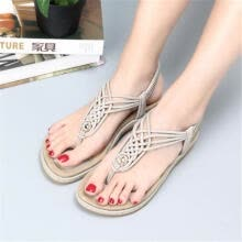 -Women's Fashion & Comfort Sandals Clip Toe Slip On Flat Female Casual Shoes For on JD