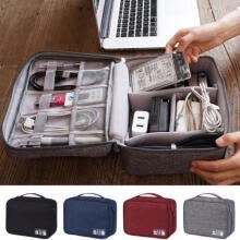 hard-drive-bags-cases-Electronics Accessories Organizer Travel Storage Hand Bag Cable USB Drive Case on JD