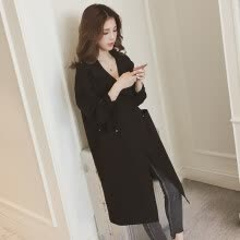 -Women Autumn Winter Loose Winter Solid Color Jackets Lapel Casual Long Sleeve Warm Coat on JD
