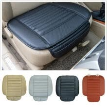 seat-covers-accessories-Universal Black Car Front Seat Cover Breathable PU leather Seat pad Cushion on JD