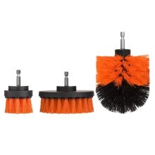 -Electric Drill Cleaning Brush Grout Power Scrubber Cleaning Brush Cleaner Tool on JD