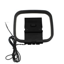 -Foldable Mini FM/AM Loop Antenna for Sony Sharp Chaine Stereo AV Receiver Systems Connector Receiver Universal on JD