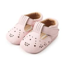 -WEIXINBUY Baby Moccasins Hollow Flower Princess Baby Shoes Pu Leather Newborn Infant Shoes For Spring Girls Dress on JD