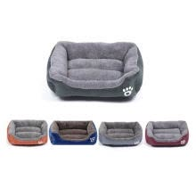 -Candy color square warm pet nest on JD