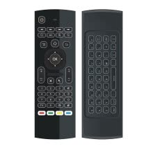 -Voberry 2.4G Mini Wireless Keyboard Backlight Infrared Remote Control 1600DPI Mouse on JD