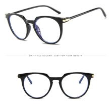-Oval Round Clear Lens Glasses Vintage Geek Nerd Retro Style Metal Frame on JD